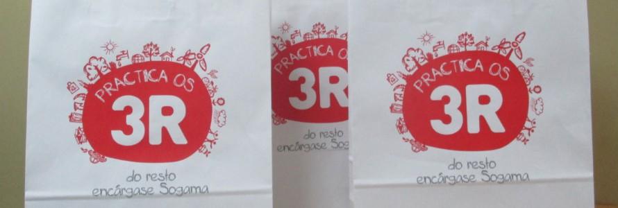 APE Galicia distribuye entre sus asociados 10.000 bolsas de papel ecológico cedidas por Sogama