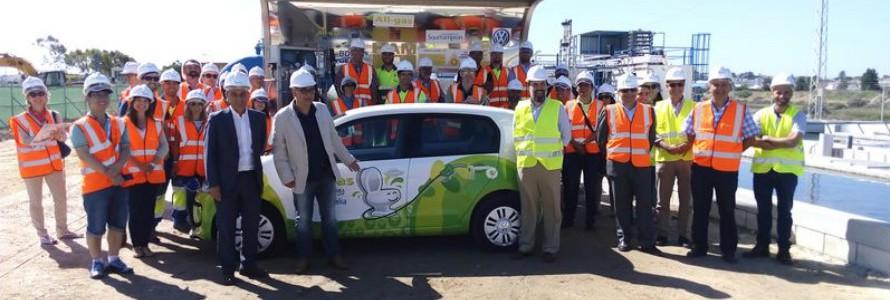 El proyecto All-gas presenta el primer vehículo de biogás a partir de microalgas