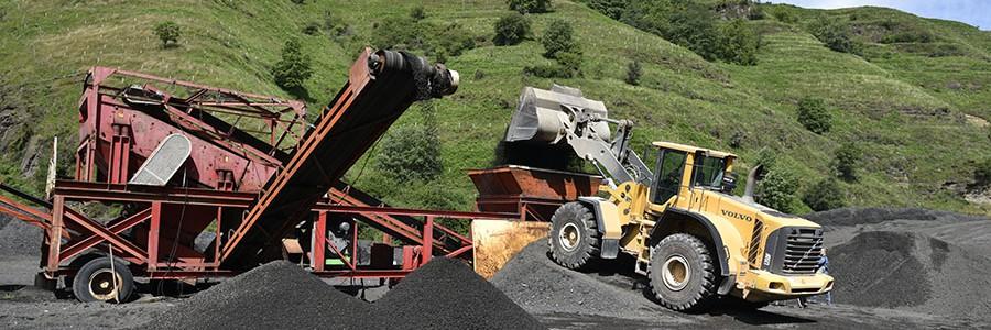Novedosa técnica de reciclado de materiales para rehabilitar un vial en Bizkaia