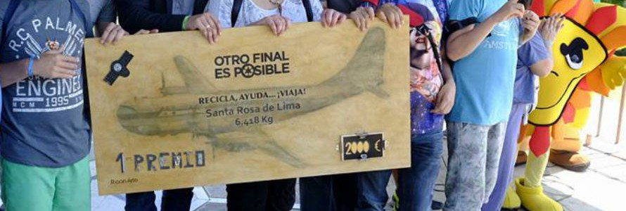"""""""Otro Final es Posible"""" concluye con 29.871 kilogramos de residuos electrónicos recogidos en Málaga"""