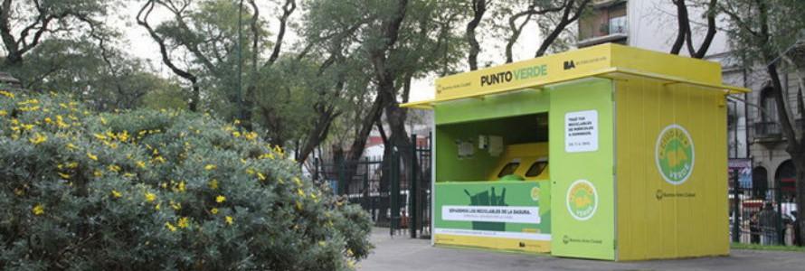 Buenos Aires casi duplicó la cantidad de vecinos que llevan residuos a los Puntos Verdes
