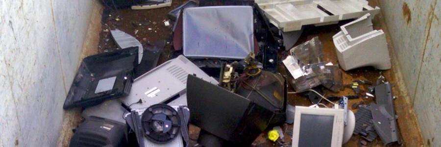 Recogidos 24 millones de kg de residuos electrónicos en Andalucía en 2015