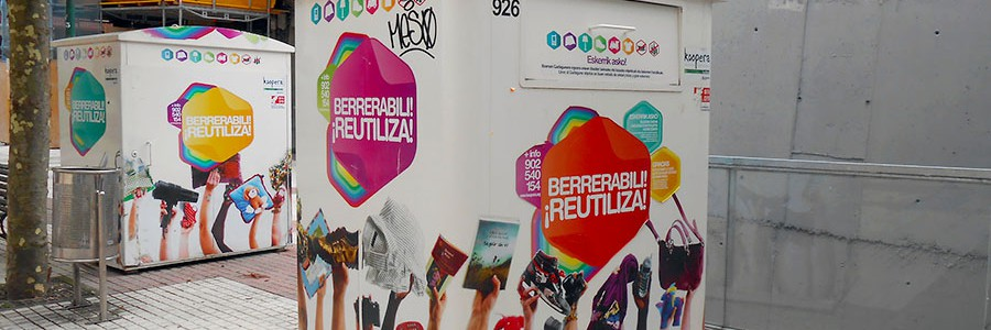 Bilbao tendrá por fin contenedores para la reutilización de residuos