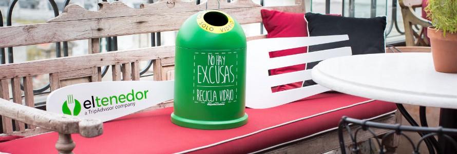 Ecovidrio y ElTenedor se unen para impulsar la sostenibilidad en la restauración