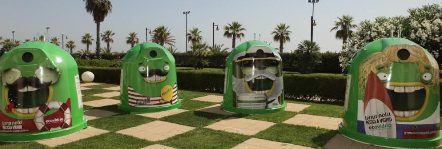 Plan integral para promover el reciclaje de vidrio en verano