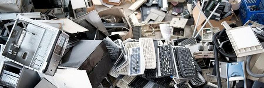 La basura electrónica, el residuo que más crece en España