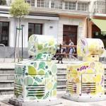 Vitoria-Gasteiz refuerza la recogida de residuos en el Casco Medieval con contenedores 'tipo panera'