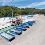 Presentada una nueva planta de reciclaje de residuos de construcción en Gipuzkoa