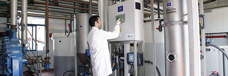 Una depuradora experimental reduce un 40% el consumo energético