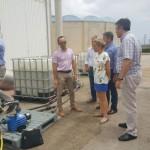 Sistema piloto de biofiltración que elimina el 97 por ciento de los nitratos contenidos en el agua