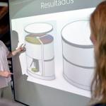 Diseñan un nuevo cubo de reciclaje doméstico que ahorra espacio