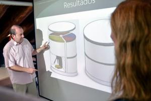 Idean una papelera de reciclaje que ahorra espacio en casa