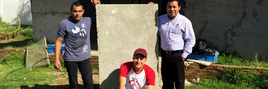 Investigadores mexicanos proponen papel reciclado como material de construcción