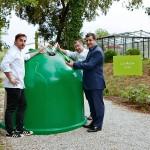 Los hermanos Roca y Ecovidrio ponen en marcha La Gran Cadena del reciclado