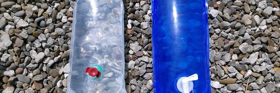 Bolsas de plástico para desinfectar agua a bajo coste
