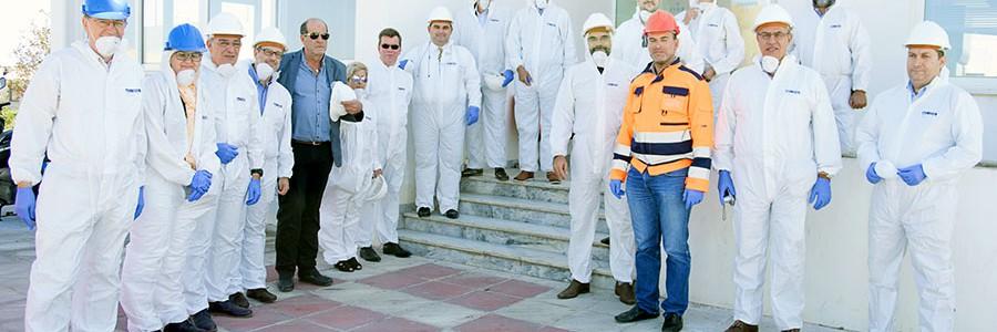La planta de tratamiento de residuos de Chania (Creta), ejemplo para otros municipios griegos