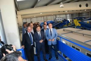 Inauguración de la Planta de Tratamiento de Residuos Sólidos Urbanos de Antequera