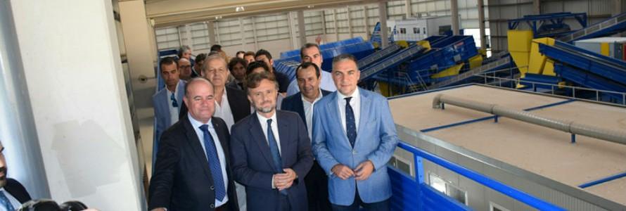 Andalucía inaugura la Planta de Tratamiento de Residuos de Antequera