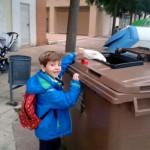 Prometedor comienzo del plan de recogida de materia orgánica y compostaje en Huesca
