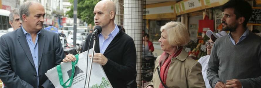 Buenos Aires lanza el programa Ecobolsas para fomentar el uso de bolsas reutilizables