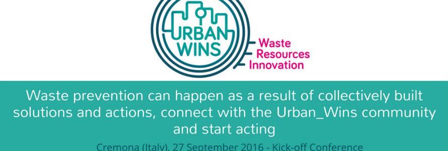 Reunión de lanzamiento del proyecto UrbanWins: ecoinnovación para la gestión de residuos