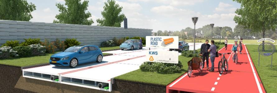 Holanda construirá carreteras con módulos de plástico reciclado