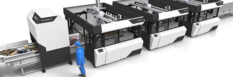 ZenRobotics actualiza y mejora su robot de reciclaje
