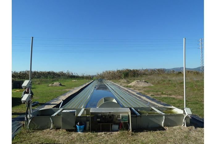 Planta piloto del proyecto Incover en Agropolis. Fotografía UPC