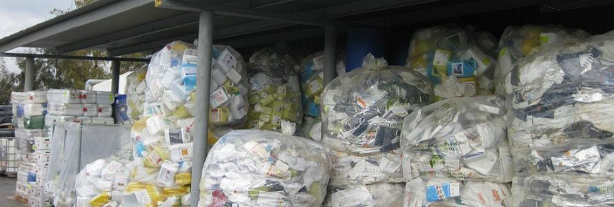 La recogida de residuos agrícolas creció un 10% el año pasado