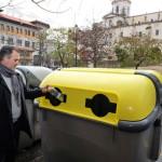 Santander amplía el parque de contenedores para el reciclaje de envases