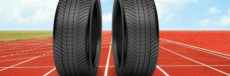 Neumáticos reciclados como pistas de atletismo