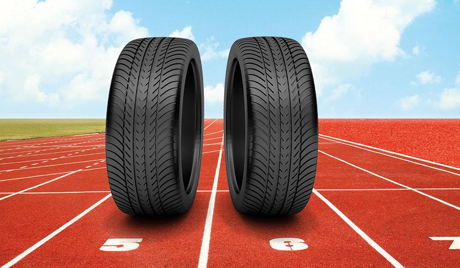 Los neumáticos usados pueden reciclarse para diversas aplicaciones, incluidas las pistas de atletismo