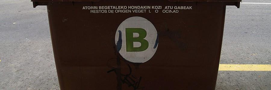 Bizkaia destina 1.080.000 euros a ayudas para extender la recogida de residuos orgánicos