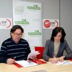Ecoembes y FeSP-UGT promoverán el reciclaje en el sector público