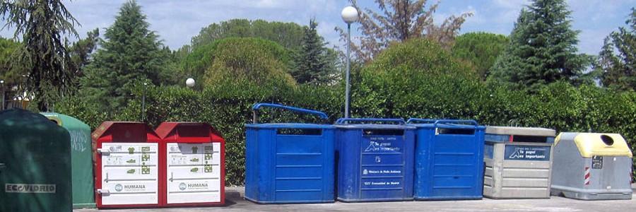 La Comunidad de Madrid destina 1,1 millones a mejorar los puntos limpios