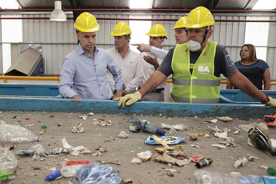 Buenos Aires inaugura la planta de reciclaje más moderna de Argentina