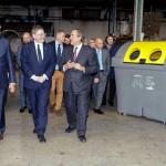 Ximo Puig y Juan Rosell visitan las empresas Rototank y Urban Gravity