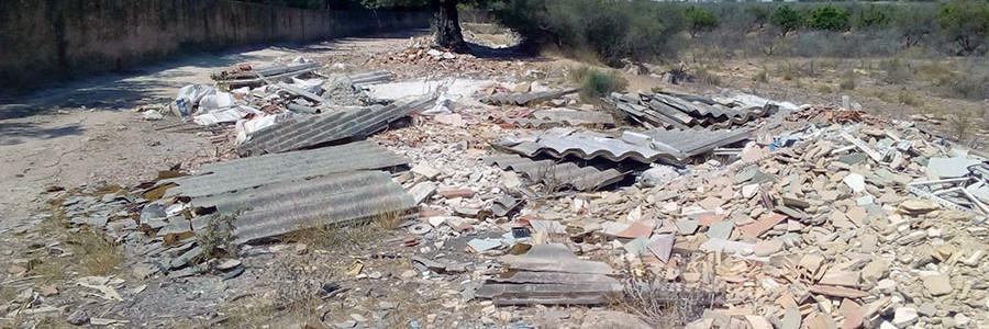 Los gestores de residuos de la construcción reclaman a la Generalitat Valenciana una normativa que regule el sector