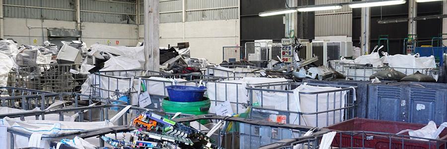 Movilex RAEE cumple cinco años reciclando residuos electrónicos