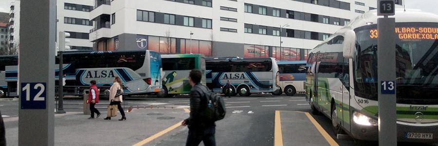 Aprovechamiento de residuos siderúrgicos en el nuevo pavimento de la estación provisional de autobuses de Bilbao
