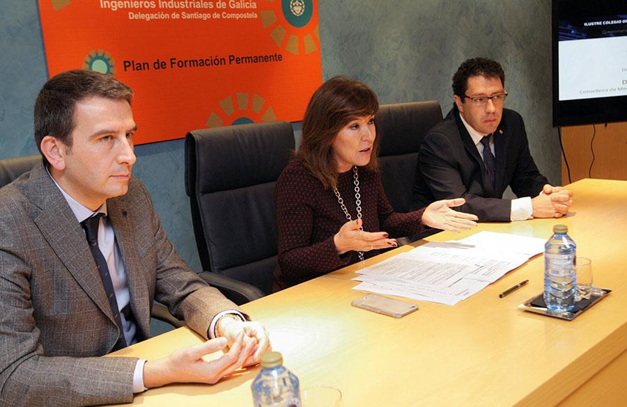 La Xunta invita a los ingenieros industriales gallegos a colaborar en el desarrollo de la economía circular