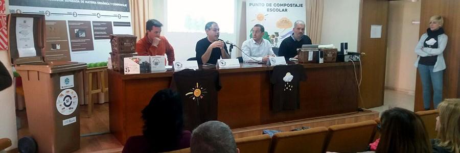 El Ayuntamiento de Alicante presenta a los centros educativos la recogida selectiva de materia orgánica