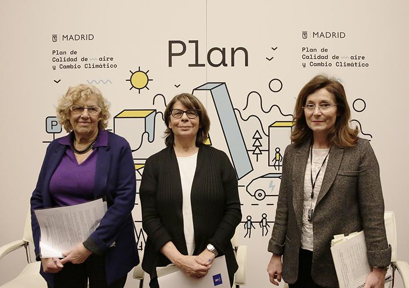 Resultado de imagen de Plan calidad aire Madrid Sabanés