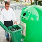 El reciclaje de vidrio en el contenedor verde crece un 4% y supera las 750.000 toneladas