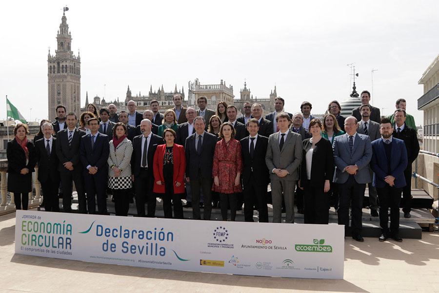 60 ayuntamientos apoyan la Declaración de Sevilla por la economía circular