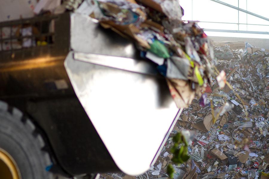 La recogida de papel y cartón para reciclar creció un 3,1% el año pasado