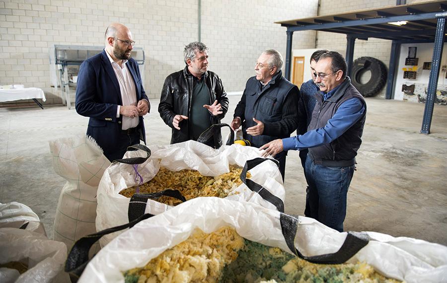 El proyecto URBANREC recuperará 21 toneladas de residuos voluminosos en tres años