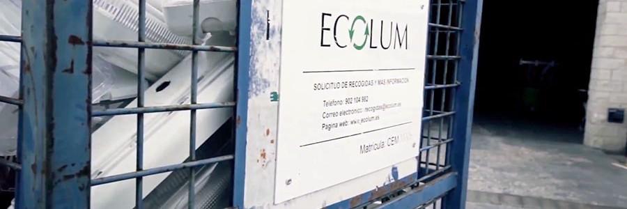 ECOLUM se integra en la plataforma medioambiental Recyclia