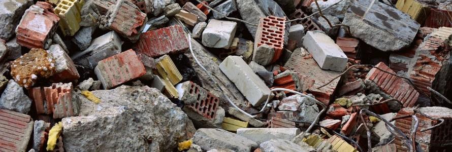 Ayudas por 1,8 millones de euros para la utilización de áridos reciclados en Cataluña