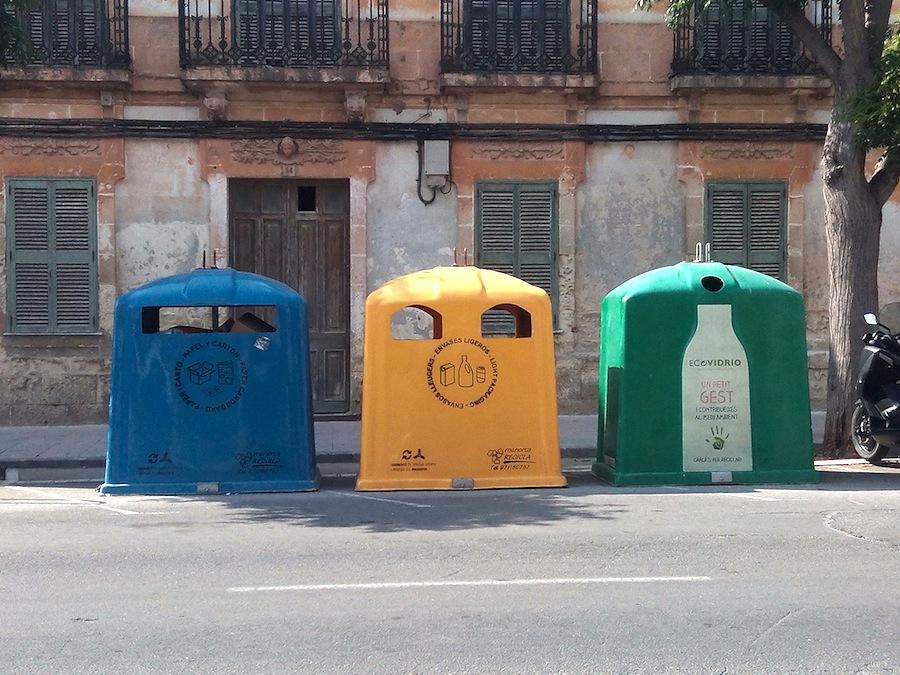 El coste de la gestión de residuos en España es de 40 €/persona